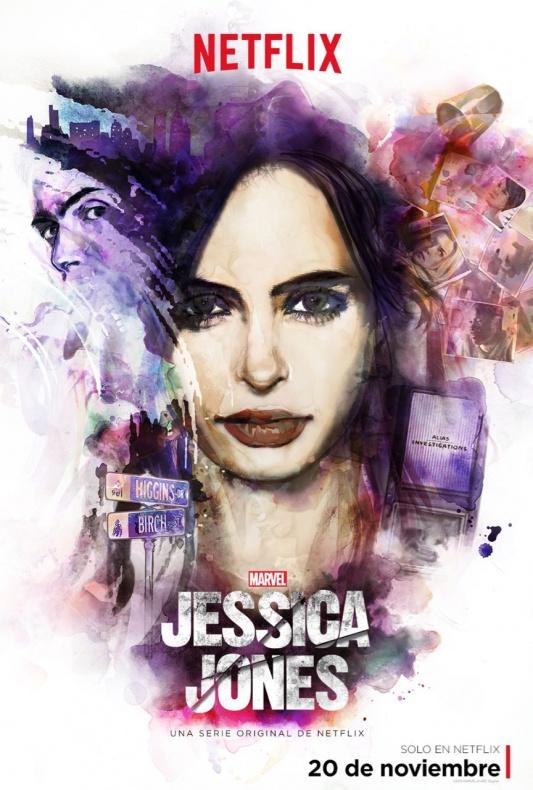 Jessica Jones póster final