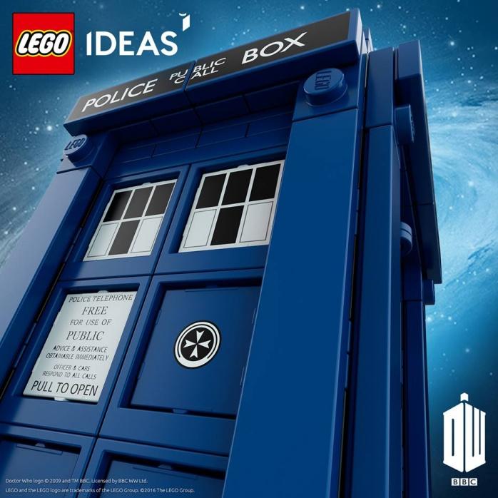 LEGO TARDIS Doctor Who