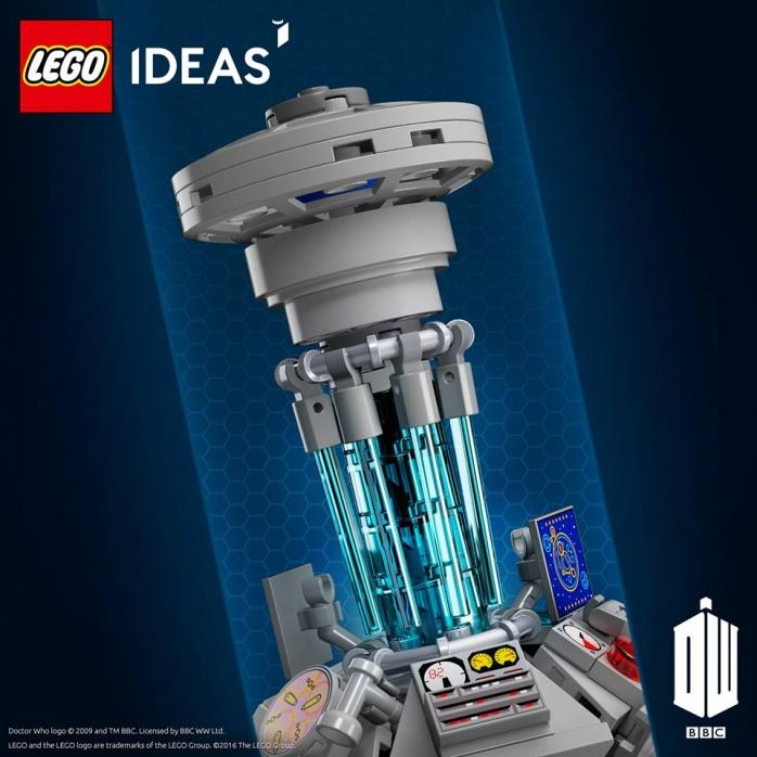 LEGO Tardis Doctor Who 1