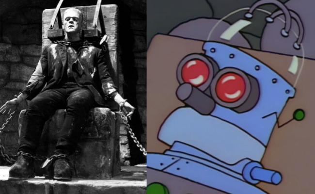 La casa árbol del terror II Frankenstein Los Simpson