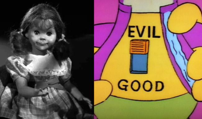 La casa árbol del terror III Living Doll Los Simpson