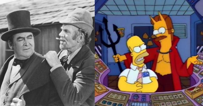 La casa árbol del terror IV Devil and daniel webster Los Simpson