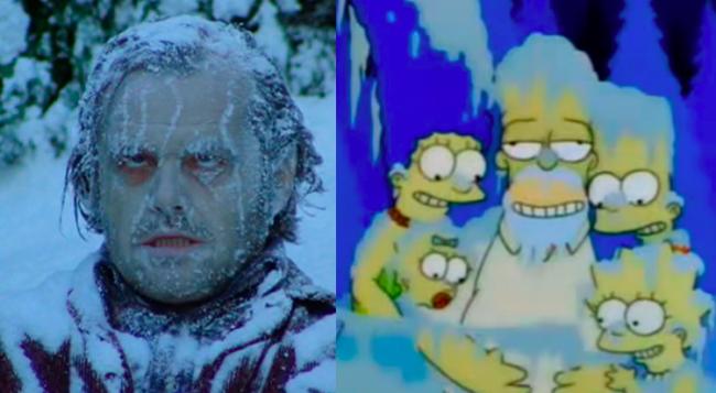 La casa árbol del terror V The Shinning Los Simpson