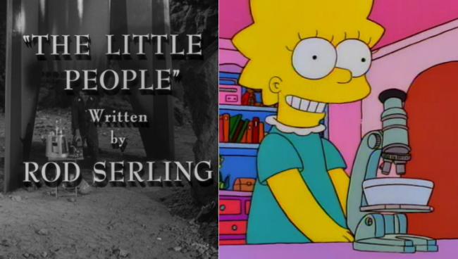 La casa árbol del terror VII The Little People Los Simpson