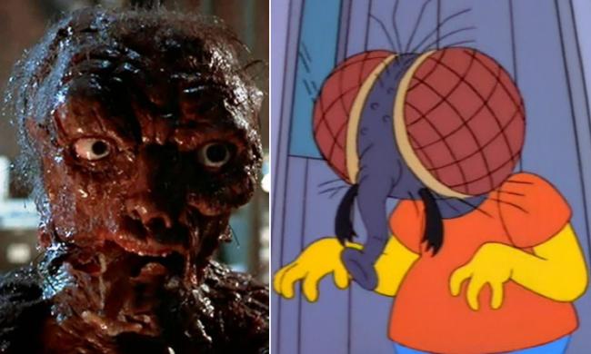 La casa árbol del terror VIII The fly Los Simpson