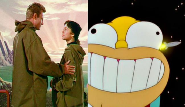 La casa árbol del terror X when Worlds Collide Los Simpson