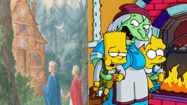 La casa árbol del terror XI Grim fairy tales Los Simpson