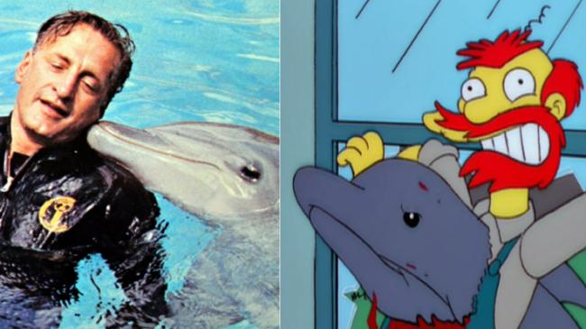 La casa árbol del terror XI day of the dolphin Los Simpson