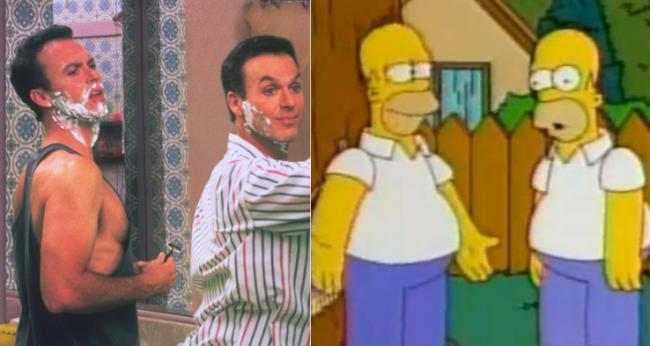 La casa árbol del terror XIII Multiplicity Los Simpson