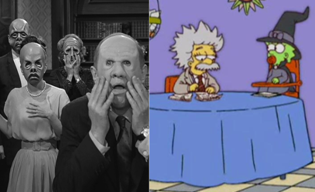 La casa árbol del terror XVI The Masks Los Simpson