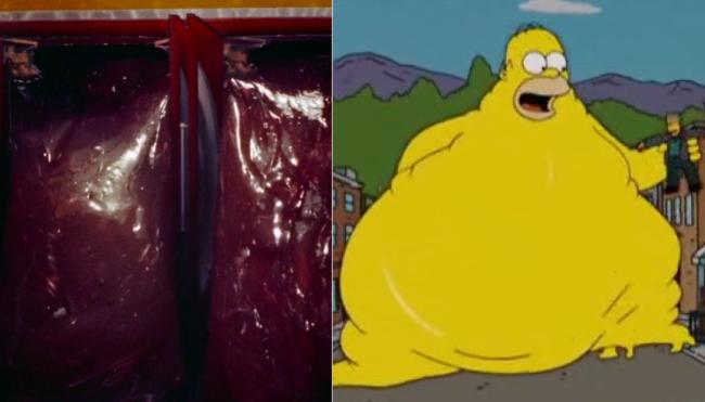 La casa árbol del terror XVII The Blob Los Simpson