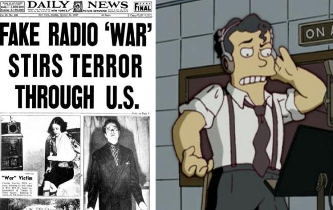 La casa árbol del terror XVII War of the worlds Los Simpson