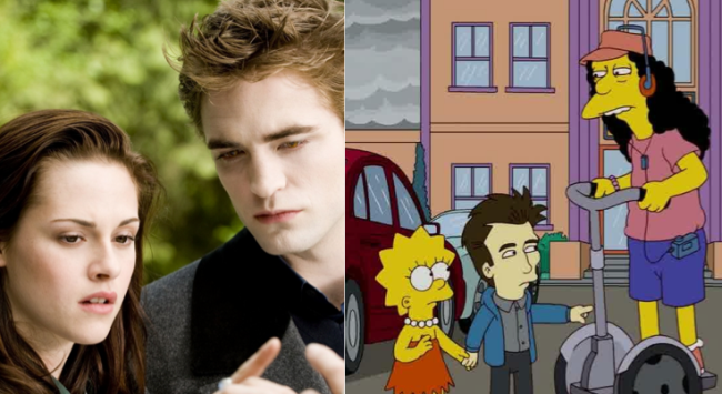 La casa árbol del terror XXI Twilight Los Simpson