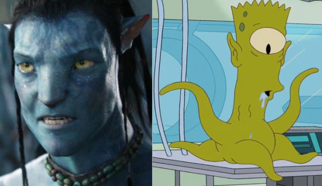 La casa árbol del terror XXII Avatar Los Simpson