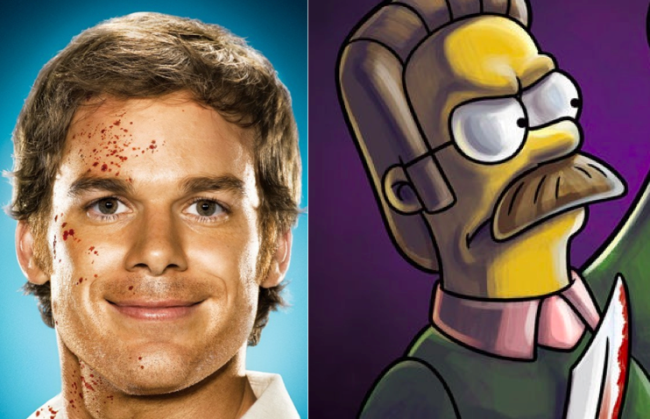 La casa árbol del terror XXII Dexter Los Simpson