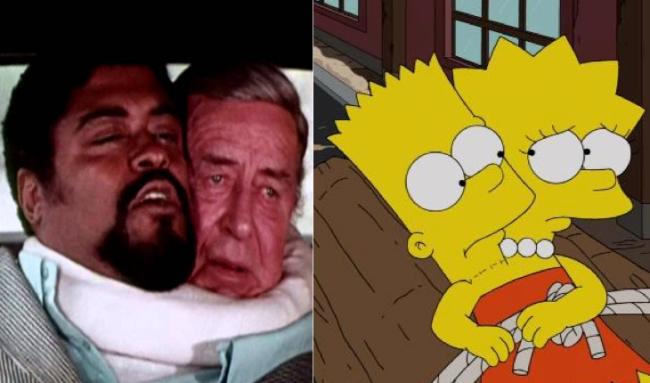 La casa árbol del terror XXIV The thing with two heads Los Simpson