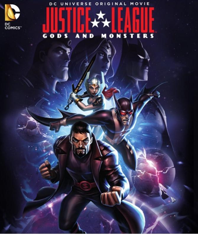 Liga de la Justicia Dioses y Monstruos