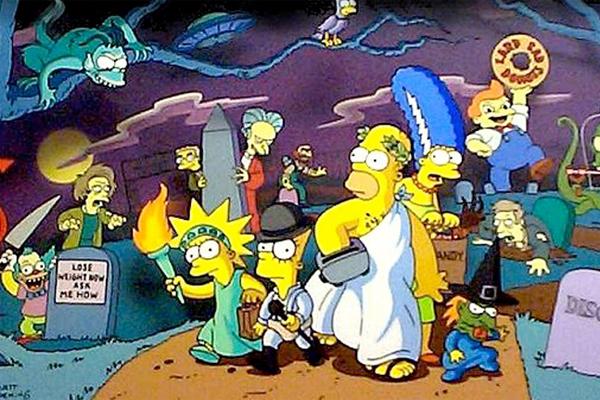 Los Simpson La Casa árbol del terror
