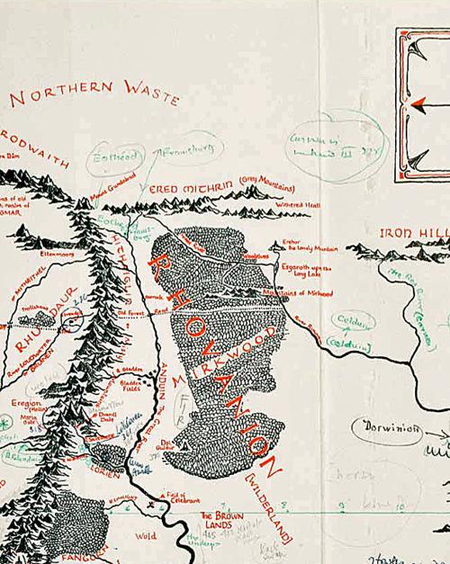 Mapa Tolkien 2