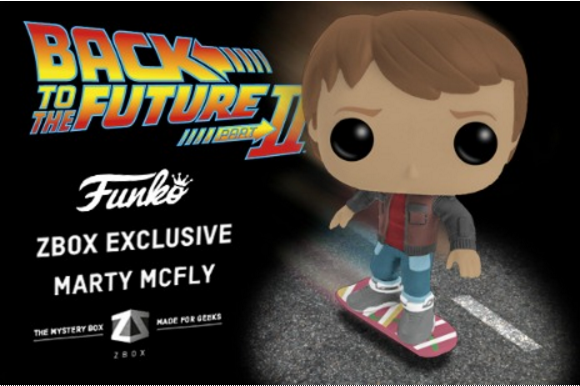 Marty McFly Funko