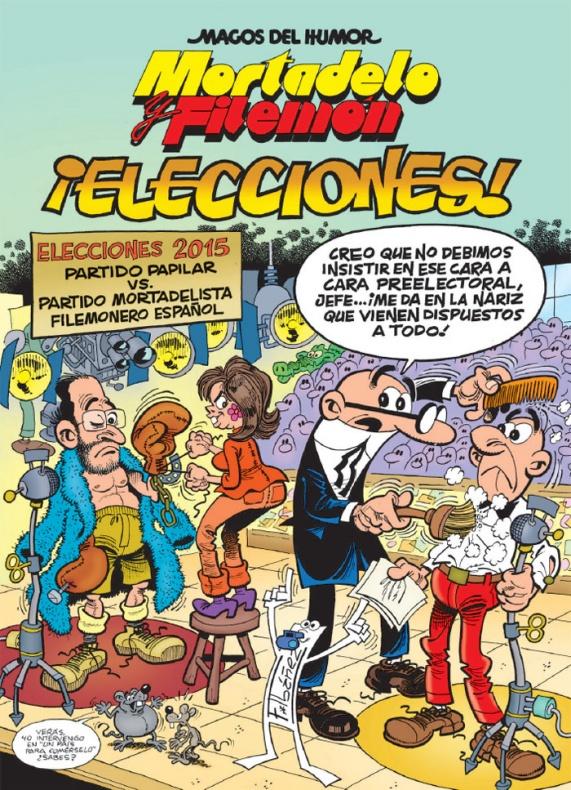 Mortadelo y Filemón Elecciones