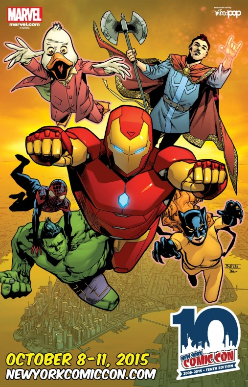 NYCC Marvel Panel