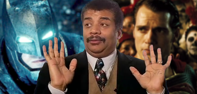 Neil deGrasse Tyson Batman Vs Superman