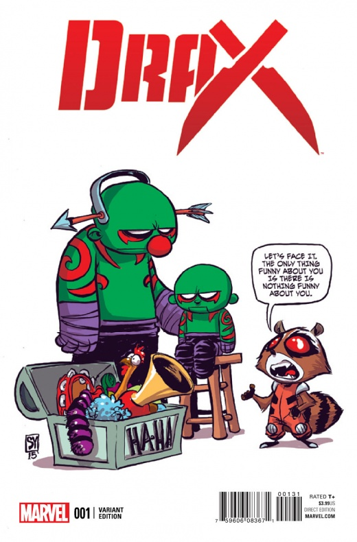 Portada alternativa de Skottie Young