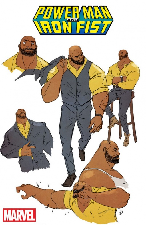 Power Man and Iron Fist Luke Cage