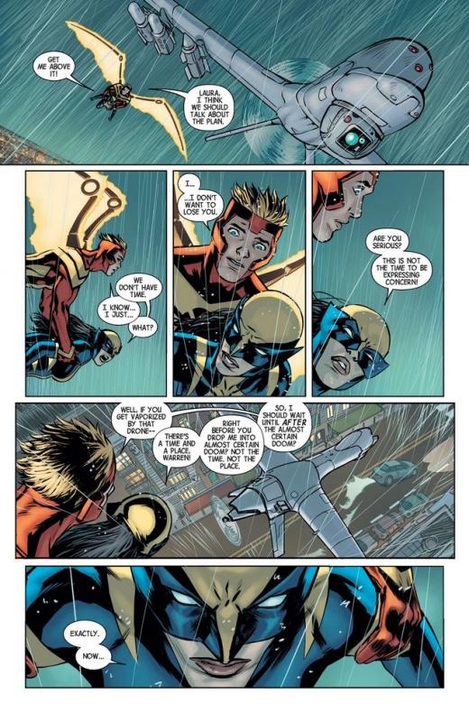 Previa del All New Wolverine N1 10