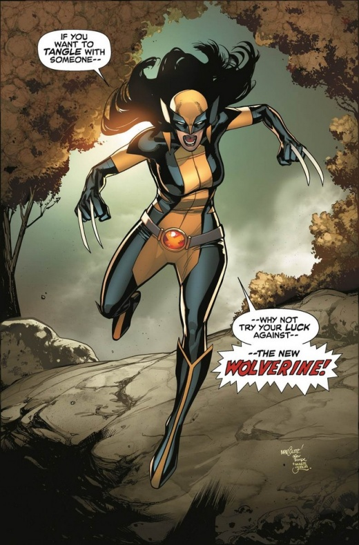 Previa del All New Wolverine N1 3