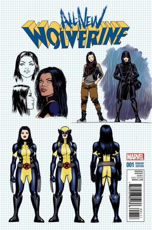 Previa del All New Wolverine N1 6