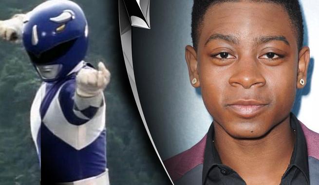 RJ Cyler Power Ranger Azul