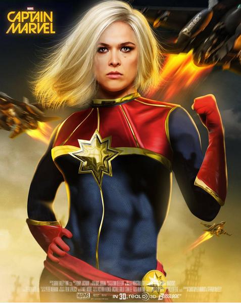 Rousey Capitana Marvel