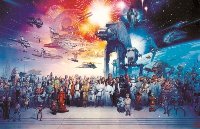 Star Wars 25th aniversary
