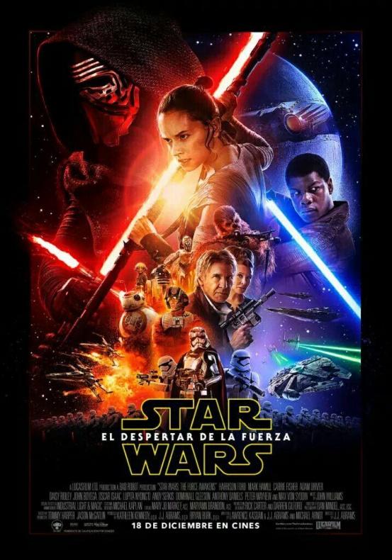 Star Wars El Despertar de la Fuerza castellano