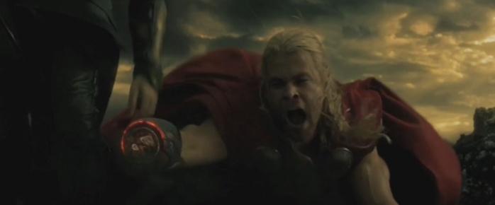 Star Wars homenajes - Thor el mundo oscuro