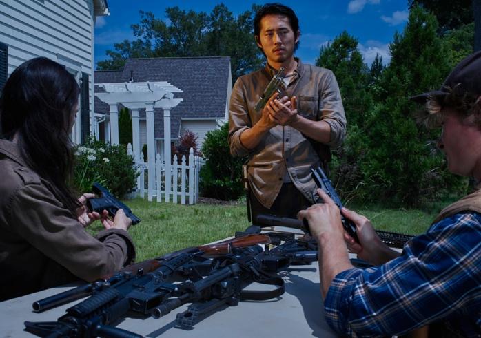 The Walking Dead Gleen Rhee