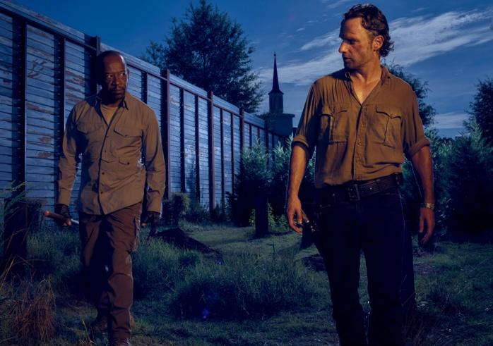 The Walking Dead Morgan y Rick