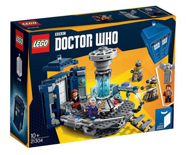 doctor who lego set 4