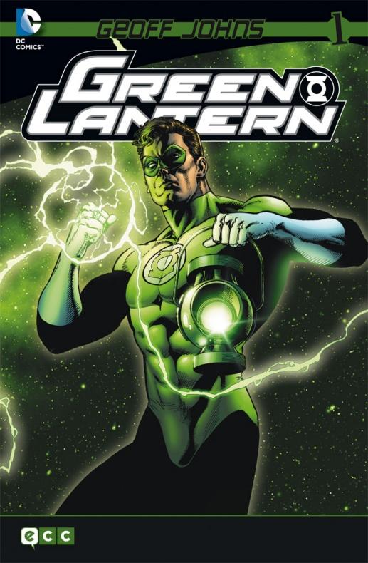 green lantern geoff johns num1 ecc