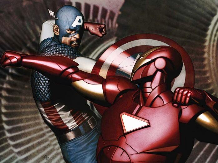 iron man vs captain america civil war
