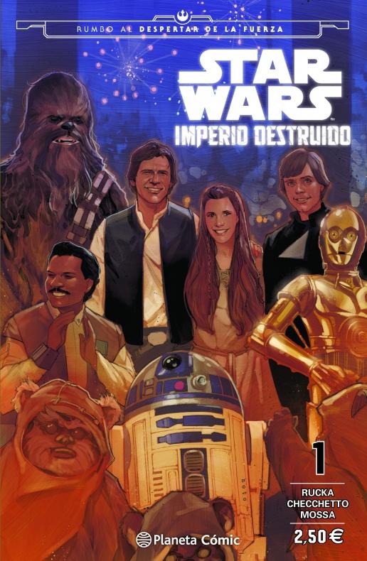 portada star wars imperio destruido shattered empire n 01