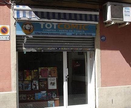 Exterior tienda