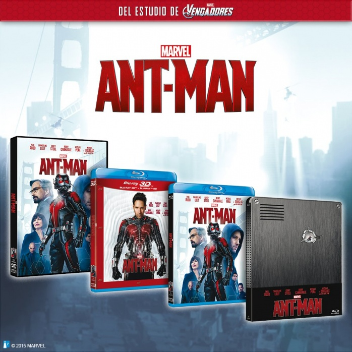 Ant-man 3D blu-ray dvd