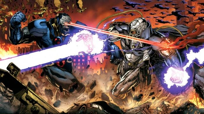 Anti-Monitor vs Darkseid