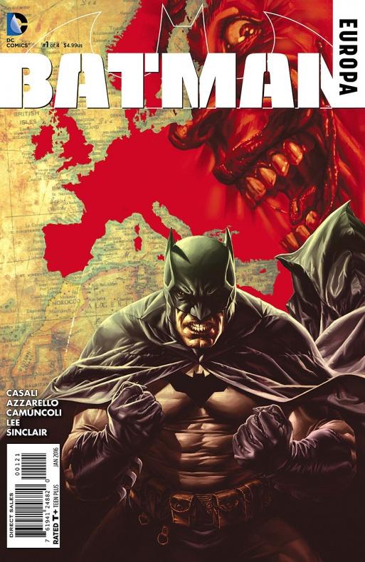 Batman Europa portada alternativa de Lee Bermejo