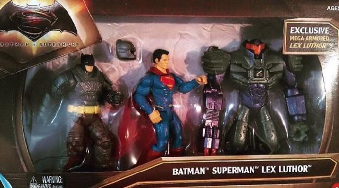 Batman V Superman: Dawn of Justice Luthor armadura