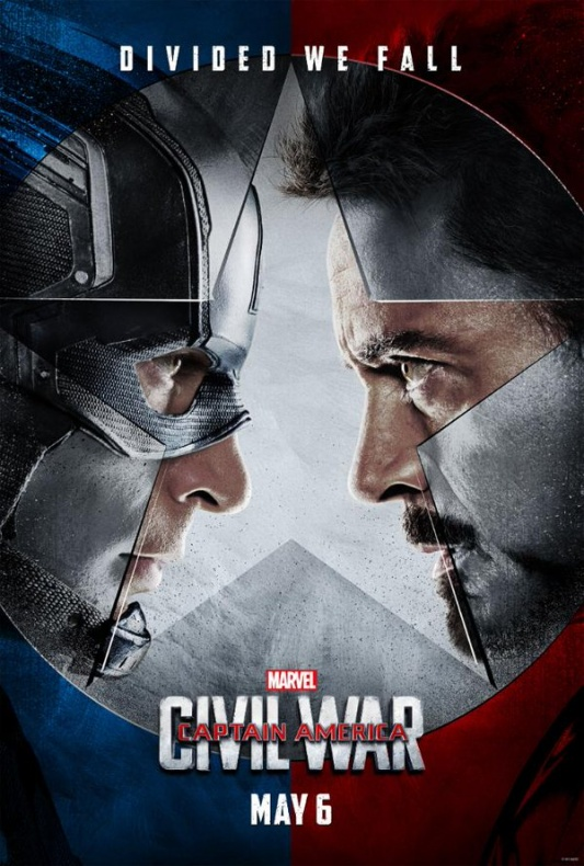 Captain America Civil War poster ddc4b