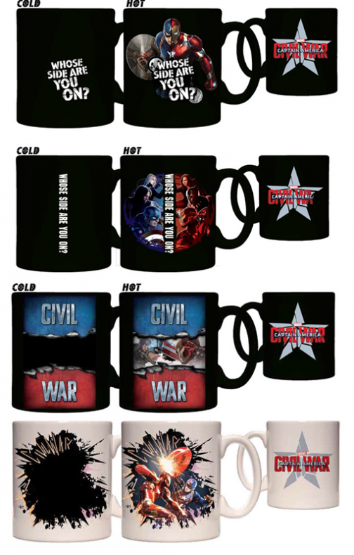 Captain America: Civil War tazas 01